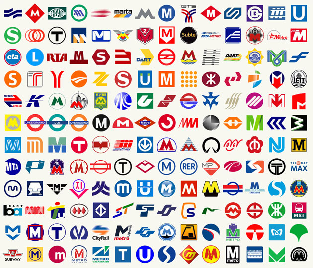 International Metro Logos