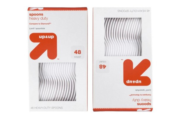 Target Up & Up Packaging