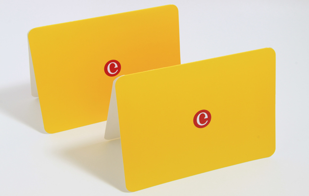 Greeting Card for software company Coredge by Ottawa Graphic Designer idApostle