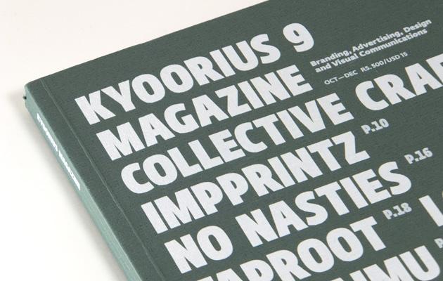 Kyoorius Magazine Cover