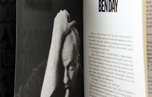 Ben Day Playbill