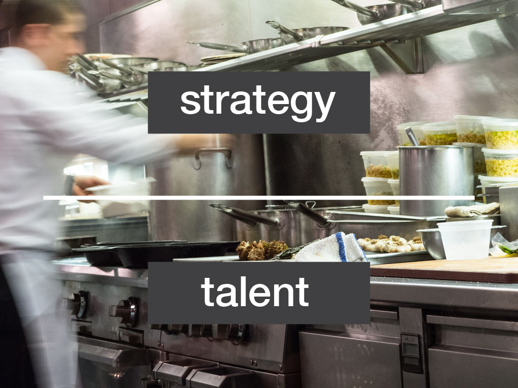 Strategy Over Talent?