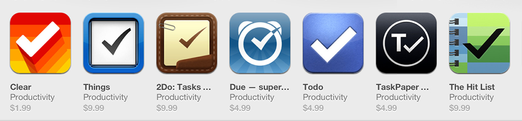 To-Do iOS App Icons