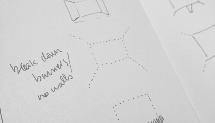 Sketch for the National Gallery of Canada Magazine Branding by Ottawa Graphic Designer idApostle
