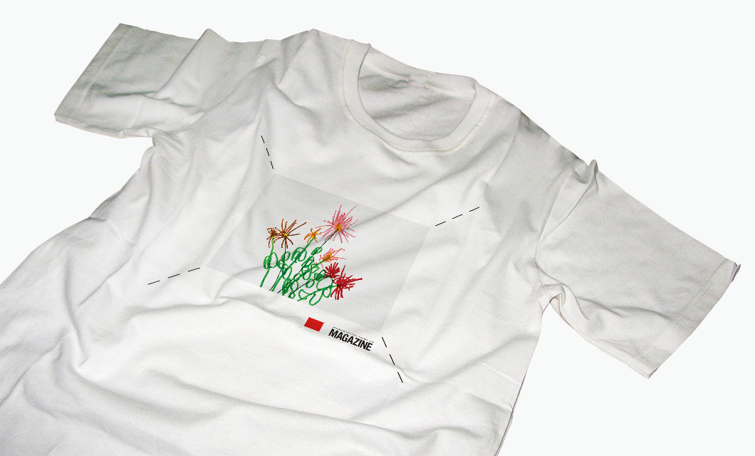 T-Shirt design for the National Gallery of Canada Magazine by Ottawa Graphic Designer idApostle