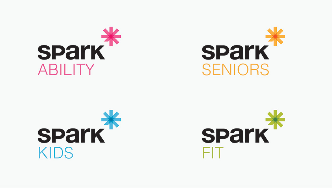 Services branding by Ottawa Graphic Designer idApostle for Services Company Spark Lifecare