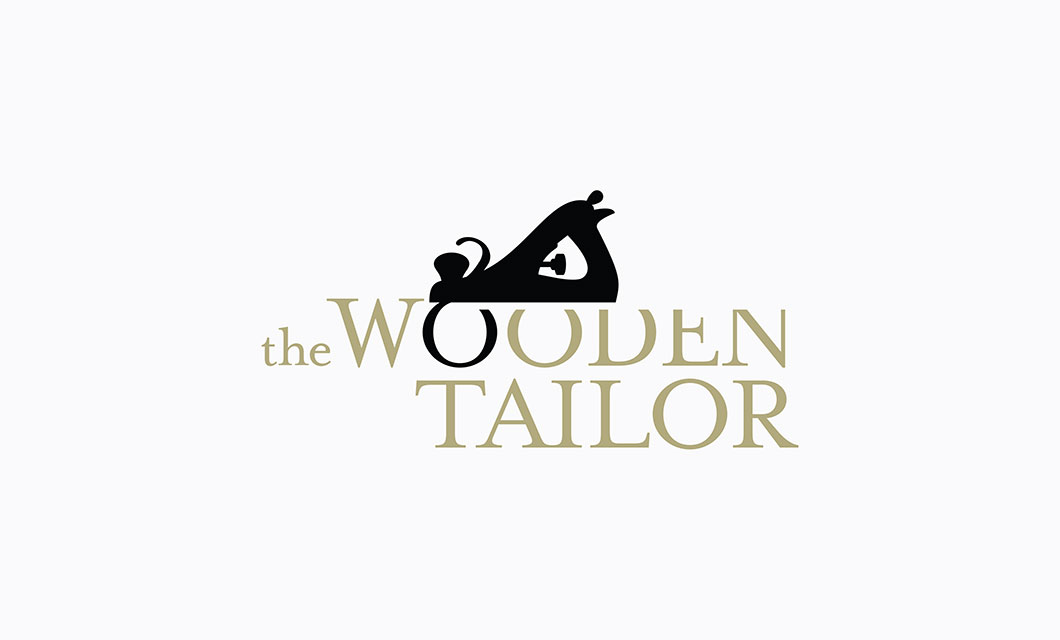 Logo Design by Ottawa Graphic Designer idApostle for Furniture Maker The Wooden Tailor