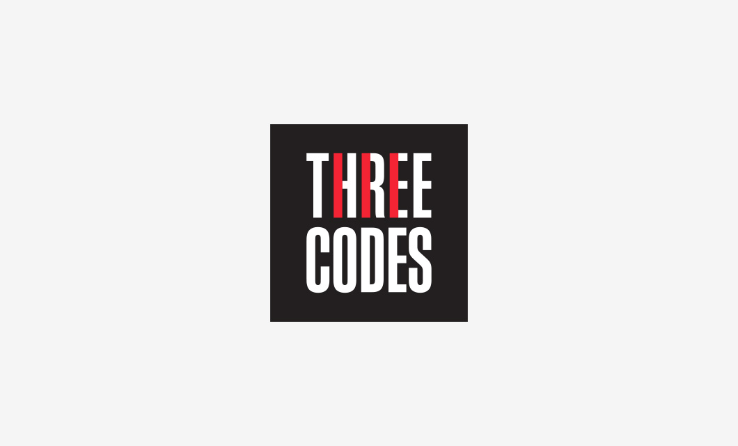 Logo for Ottawa electricians Three Codes by Ottawa Graphic Designer idApostle