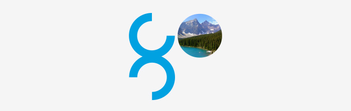 Go Symbol for recruitment agency Global Campus Education by Ottawa Graphic Designer idApostle