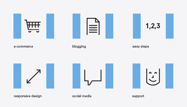 Icons by Ottawa Graphic Designer idApostle for Web Development Company Modernreach