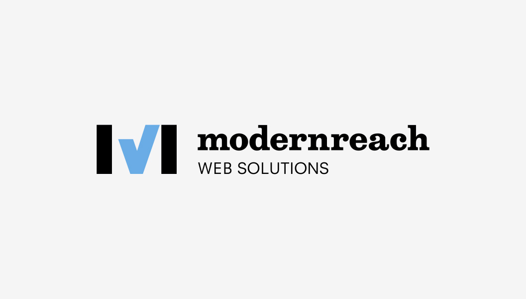 Logo by Ottawa Graphic Designer idApostle for Web Development Company Modernreach