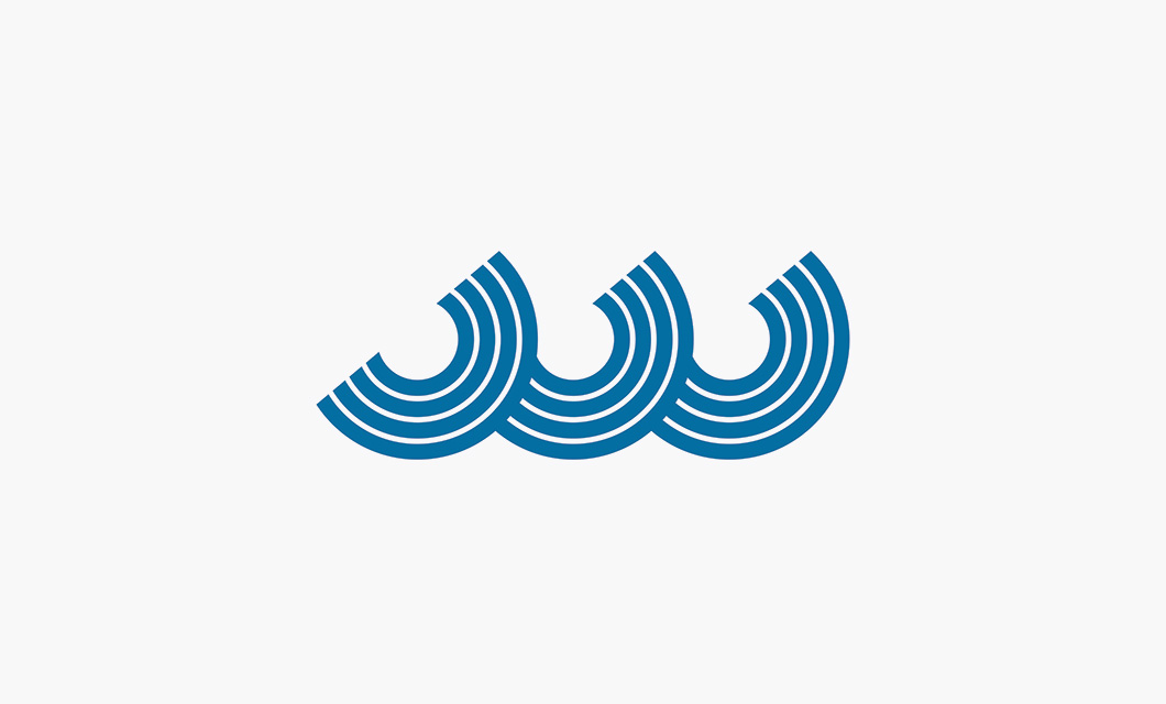 Blue Water Logo Design • idApostle