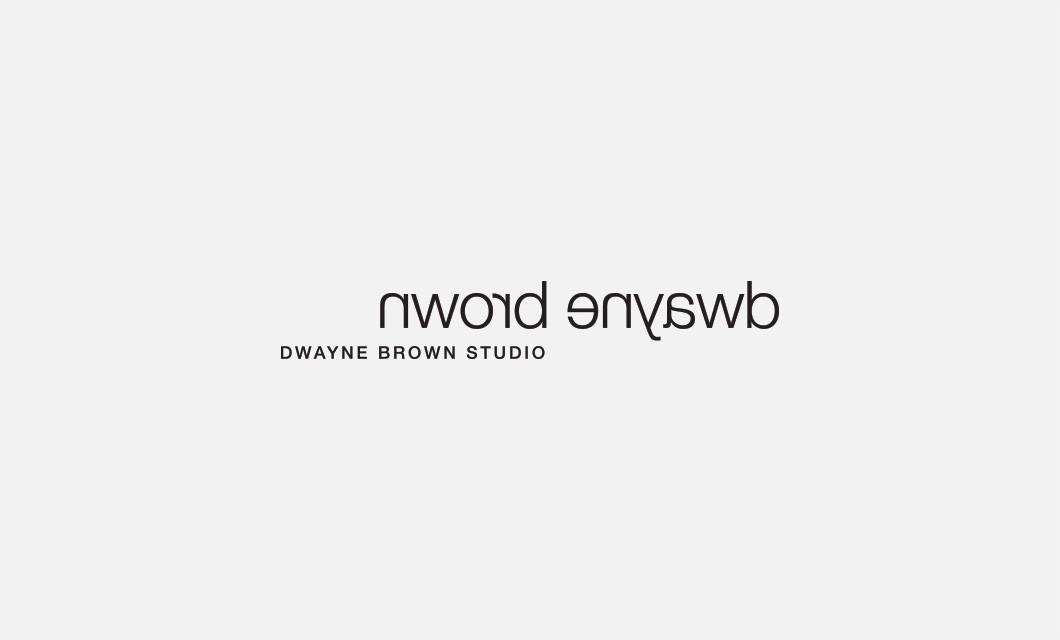 Branding for Ottawa photographer Dwayne Brown Studio, including logo design and website