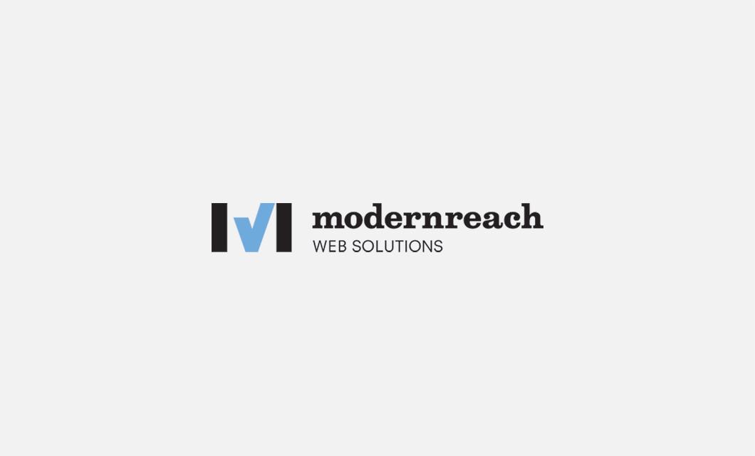 Branding for Ottawa web developer Modernreach Web Solutions including logo design