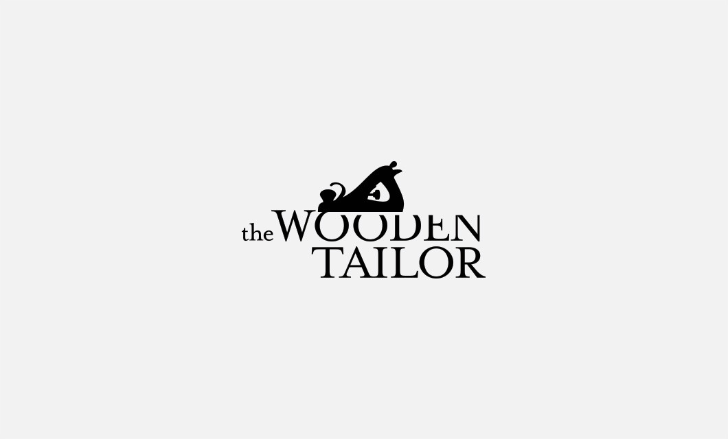 Brand creation for Ottawa woodworker The Wooden Tailor, including company naming, website and logo design