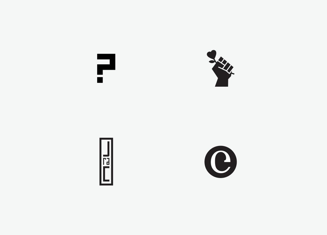 Four Logos. Two Books.