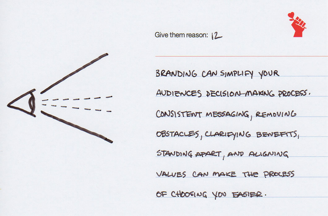 Brand Note 12: Banding Increases Focus