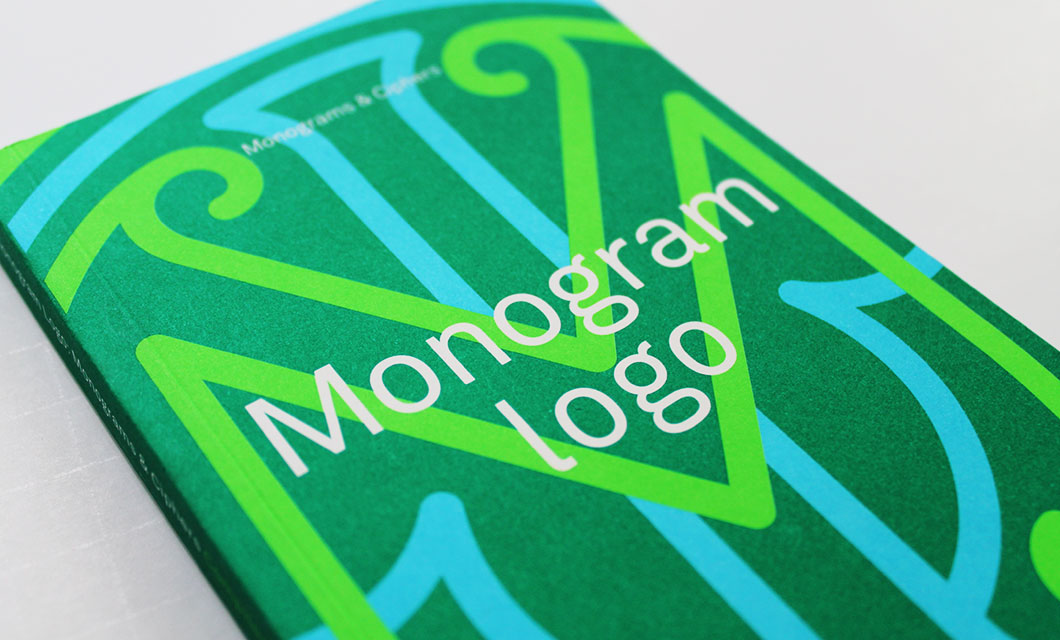 monogram-logo-book
