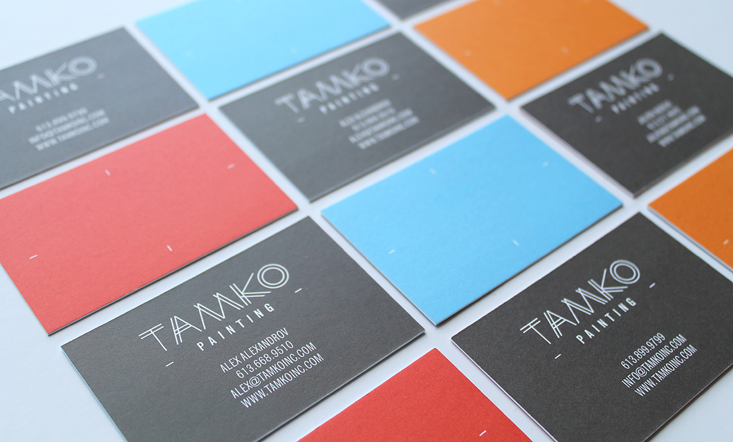 Business Cards for Ottawa-based painting and contracting company Tamko by idApostle
