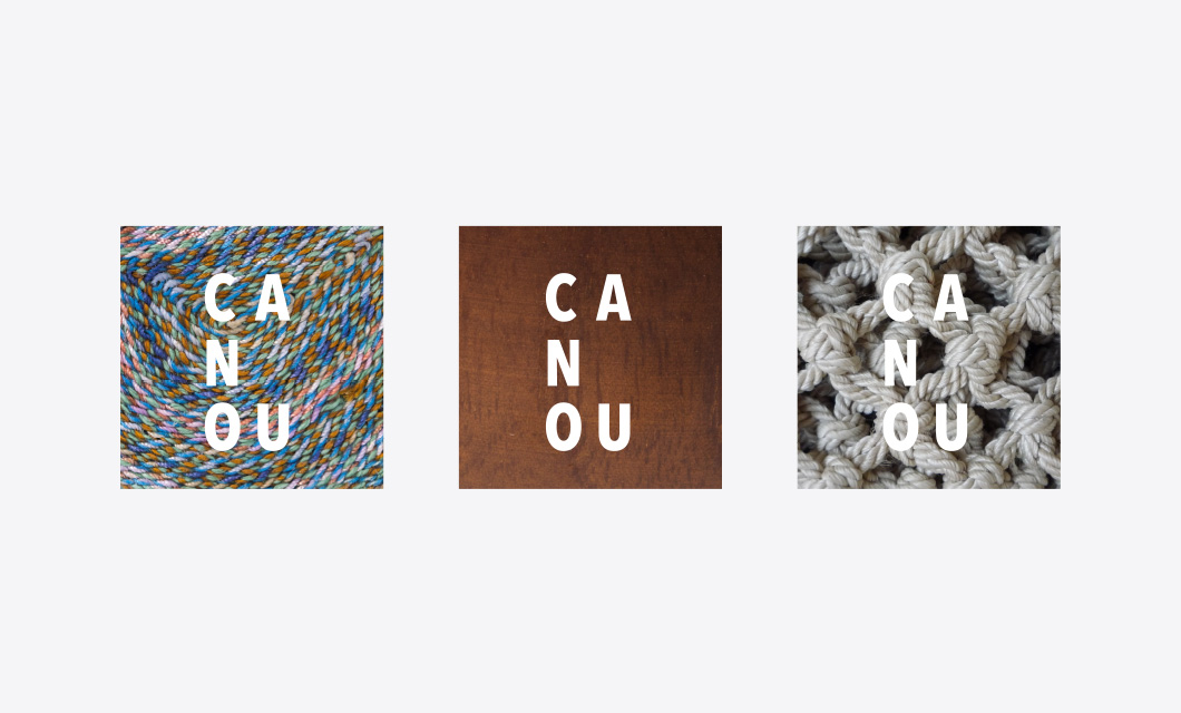Logo (reverse) for Canou by Ottawa Graphic Designer idApostle