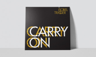Branding for rock band Isobel Trigger, including logo design and album cover