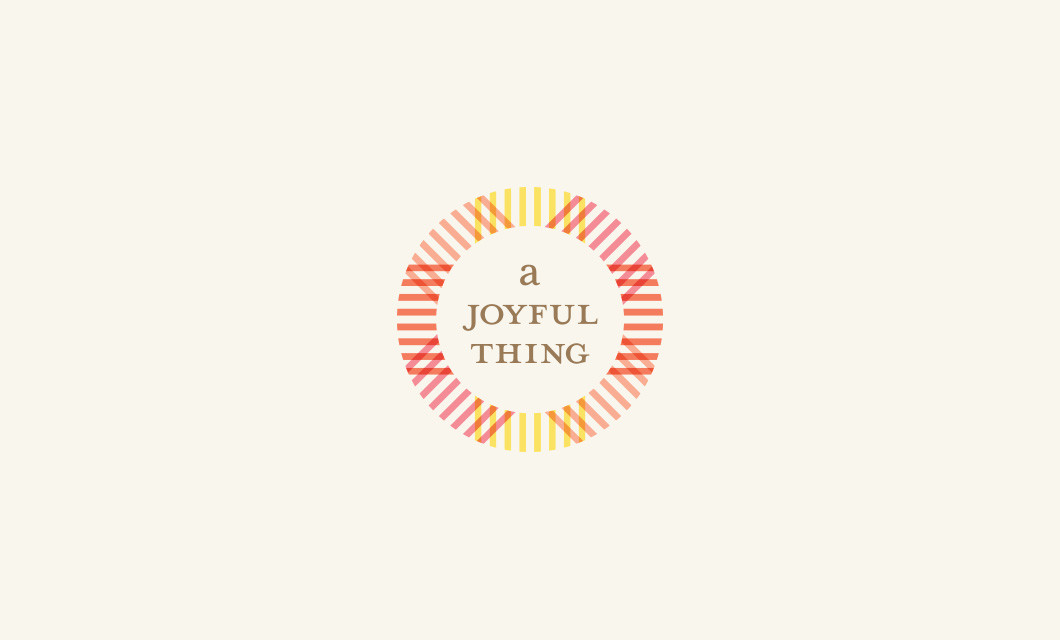 A Joyful Thing Logo by Ottawa Graphic Designer idApostle