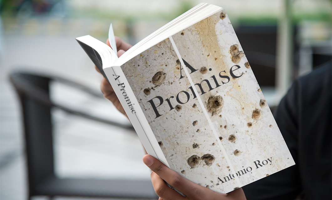 Book jacket cover design for The Promise by Ottawa graphic designer idApostle