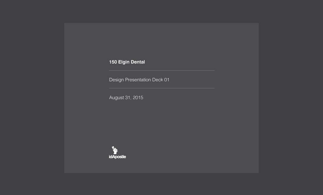 150-Elgin-Dental-design-presentation-deck-Front-cover