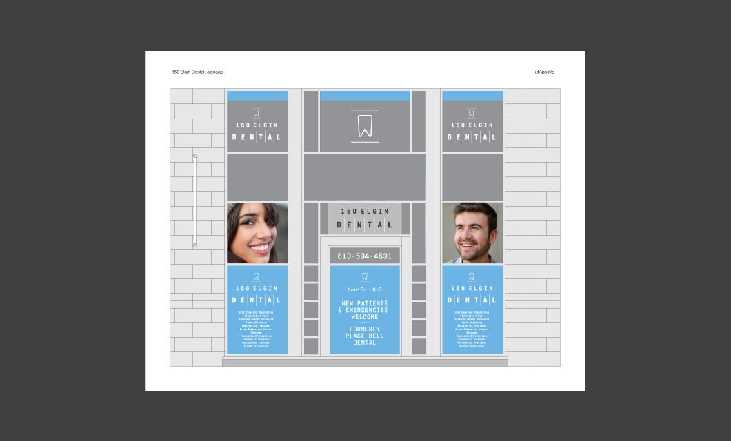 150-Elgin-Dental-design-presentation-deck_Signage