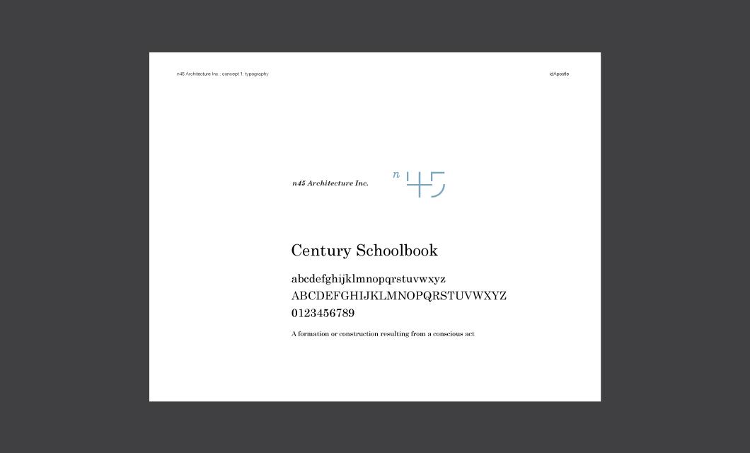 N45-Architecture-Branding-Presentation-Deck-01_Typography