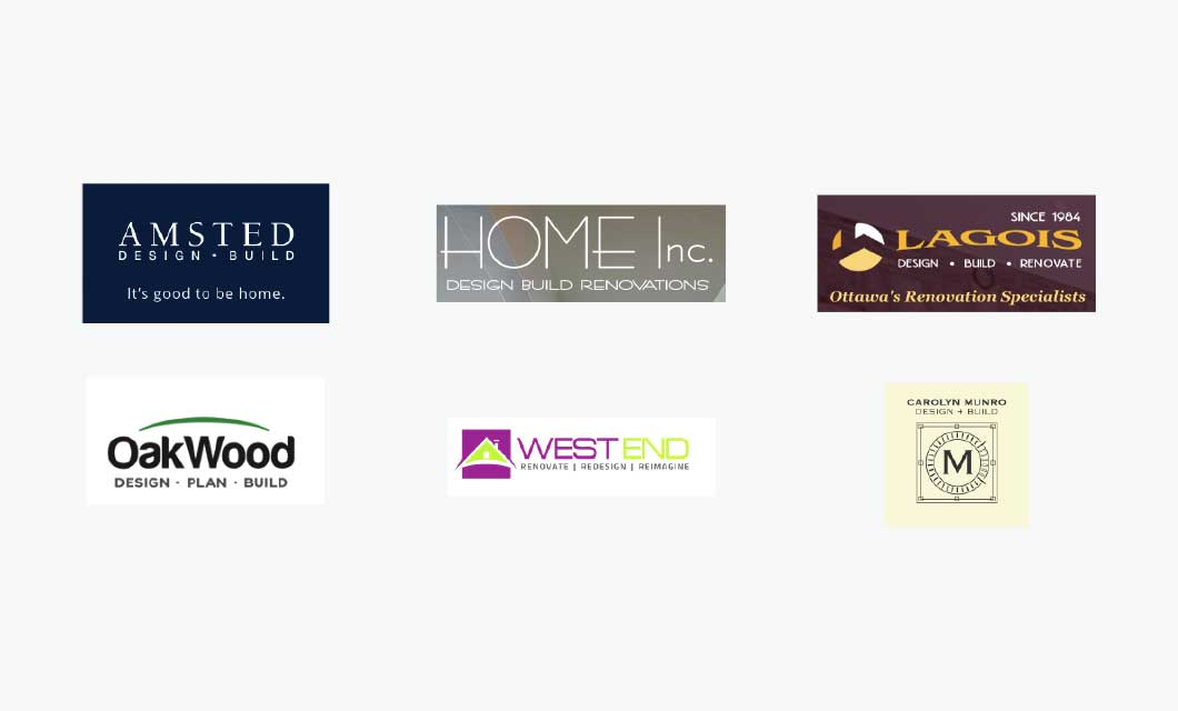 Ottawa home builder logos (competition)