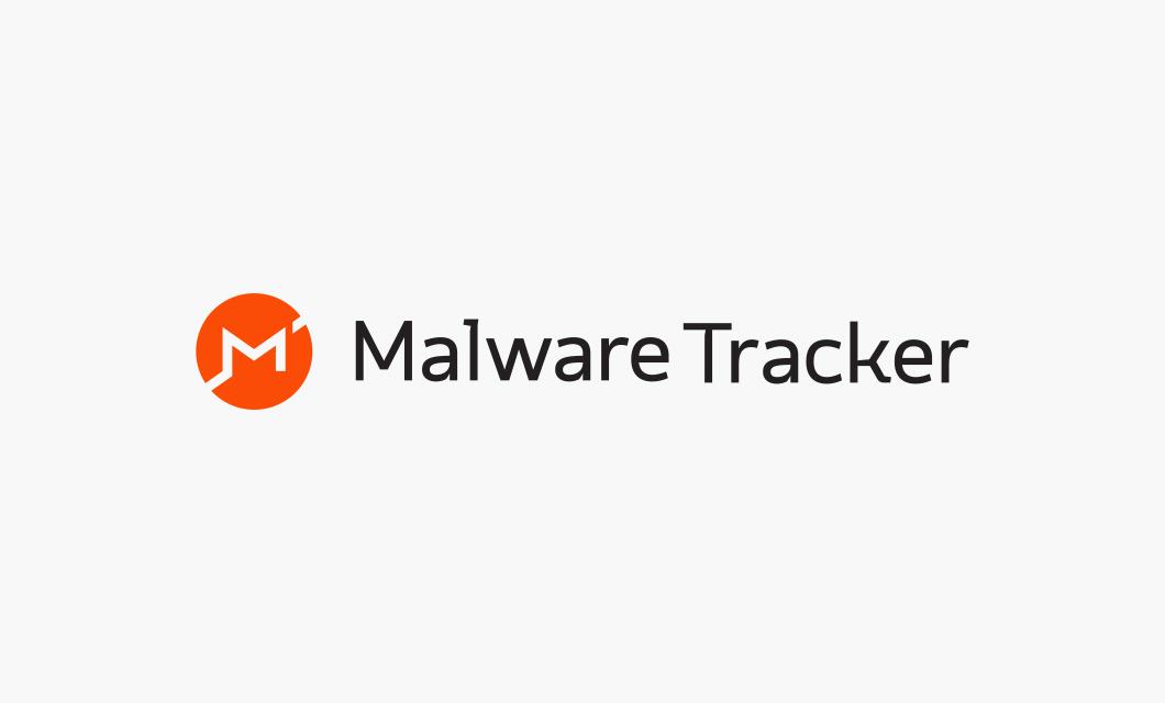 Malware Tracker Logo Horizontal by Ottawa graphic designer idApostle