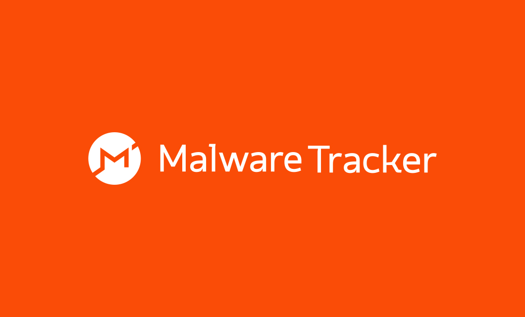 Malware Tracker Logo Reversed by Ottawa graphic designer idApostle