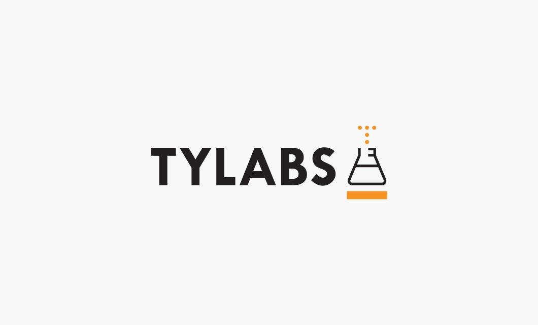 TyLabs Logo Horizontal by Ottawa graphic designer idApostle