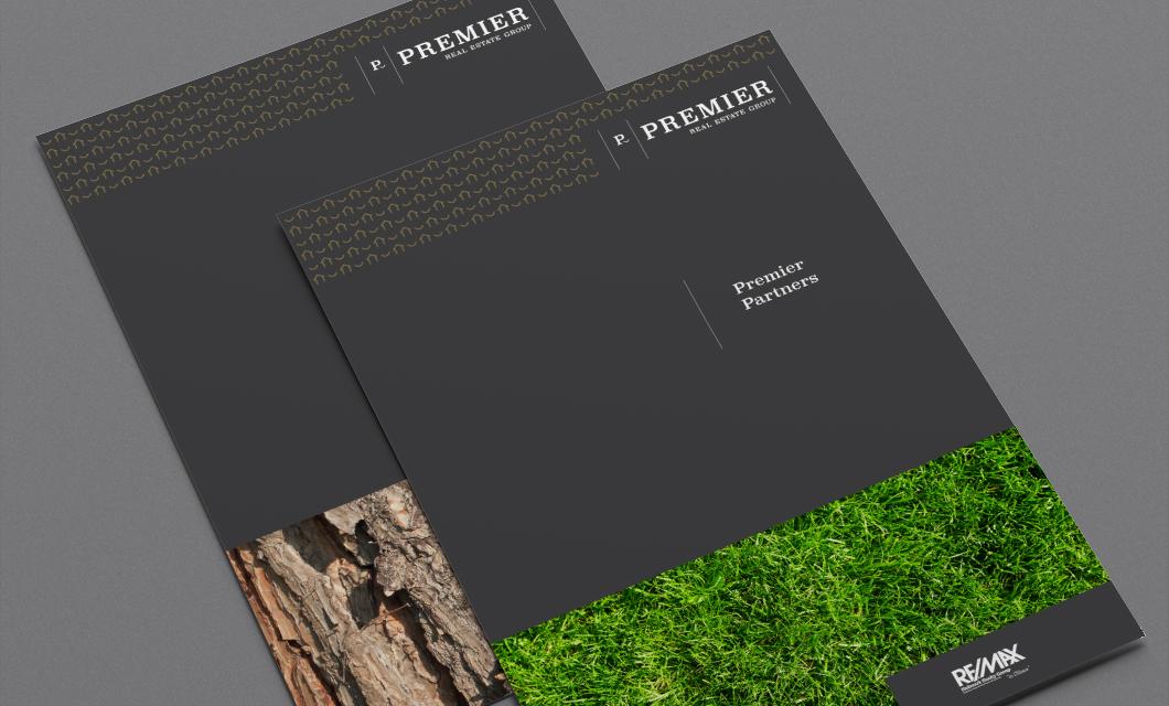 Premier Real Estate Group Rebranding by Ottawa graphic designer idApostle