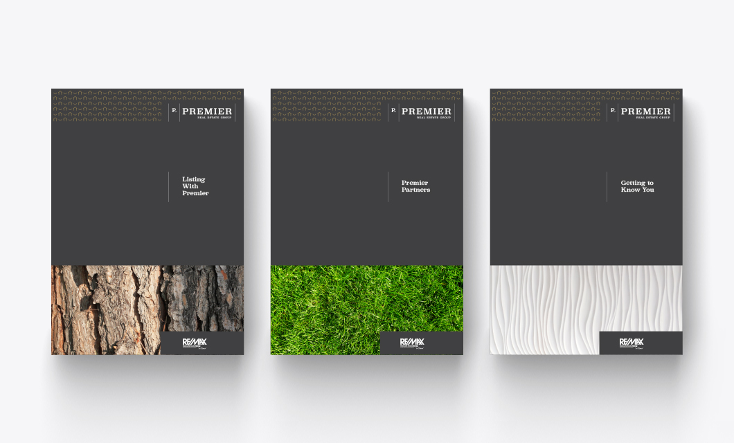 Premier Real Estate Group branding by Ottawa graphic designer idApostle