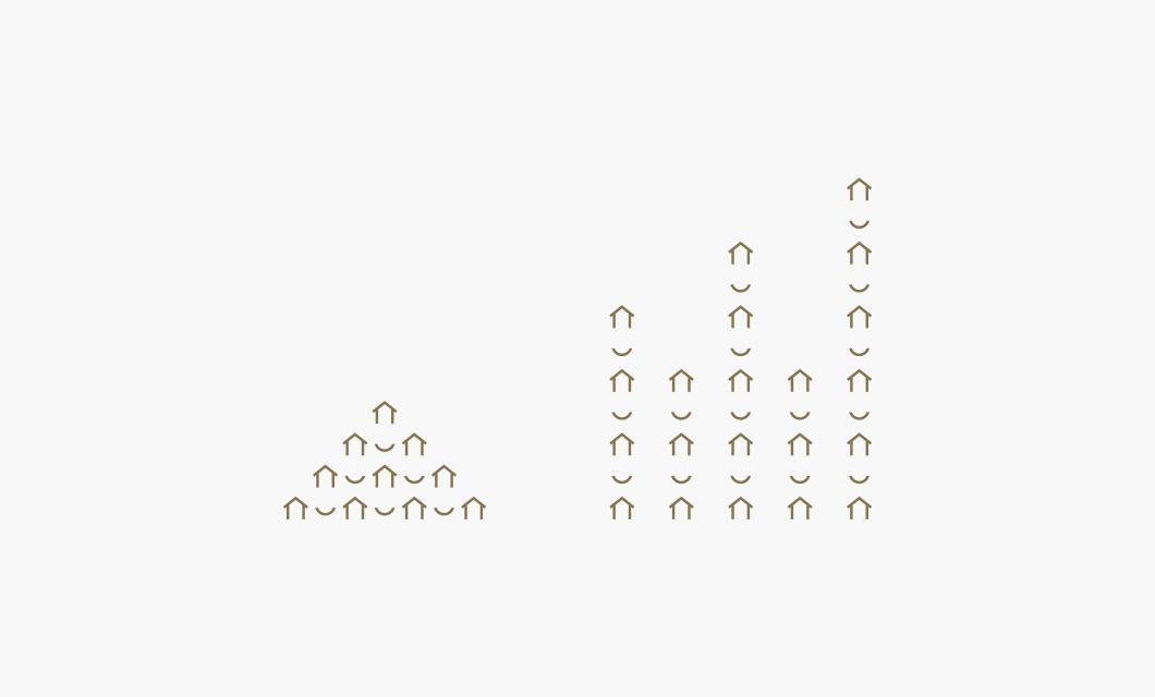 Premier Real Estate Group Brand Pattern by Ottawa graphic designer idApostle