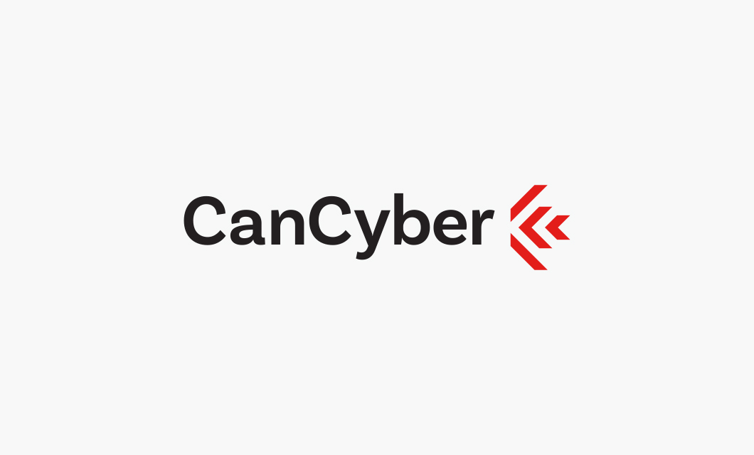 Logo design for Canadian cyber threat intelligence software company CanCyber