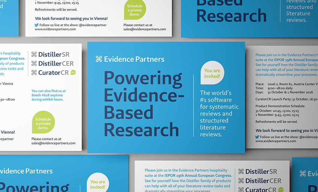 Software developer Evidence Partners branding refresh by Ottawa graphic designer idApostle