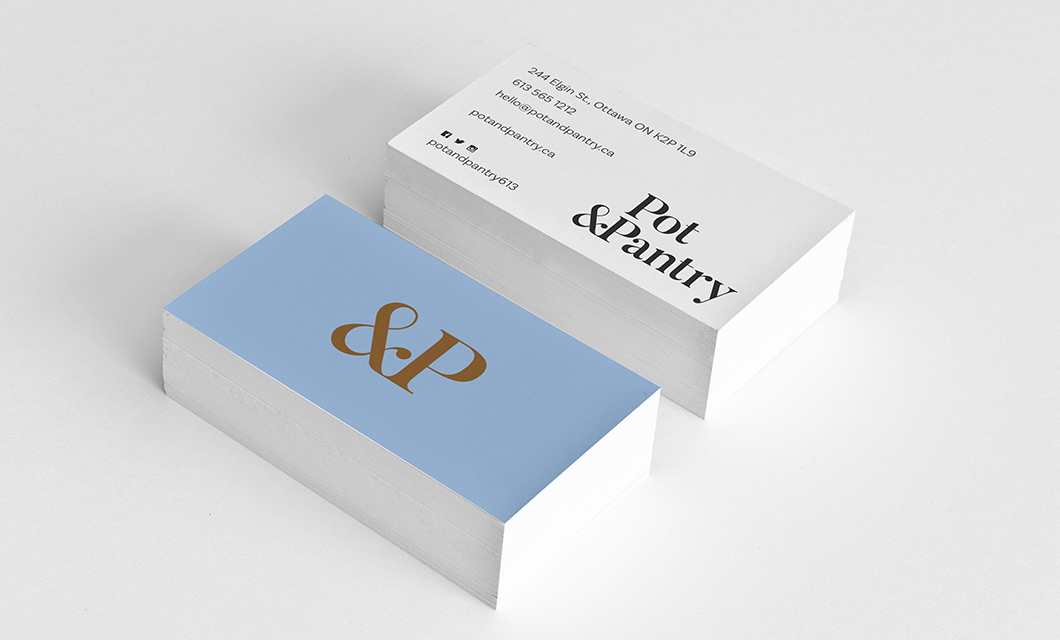 Ottawa Kitchenware Store Pot & Pantry Business Cards by idApostle