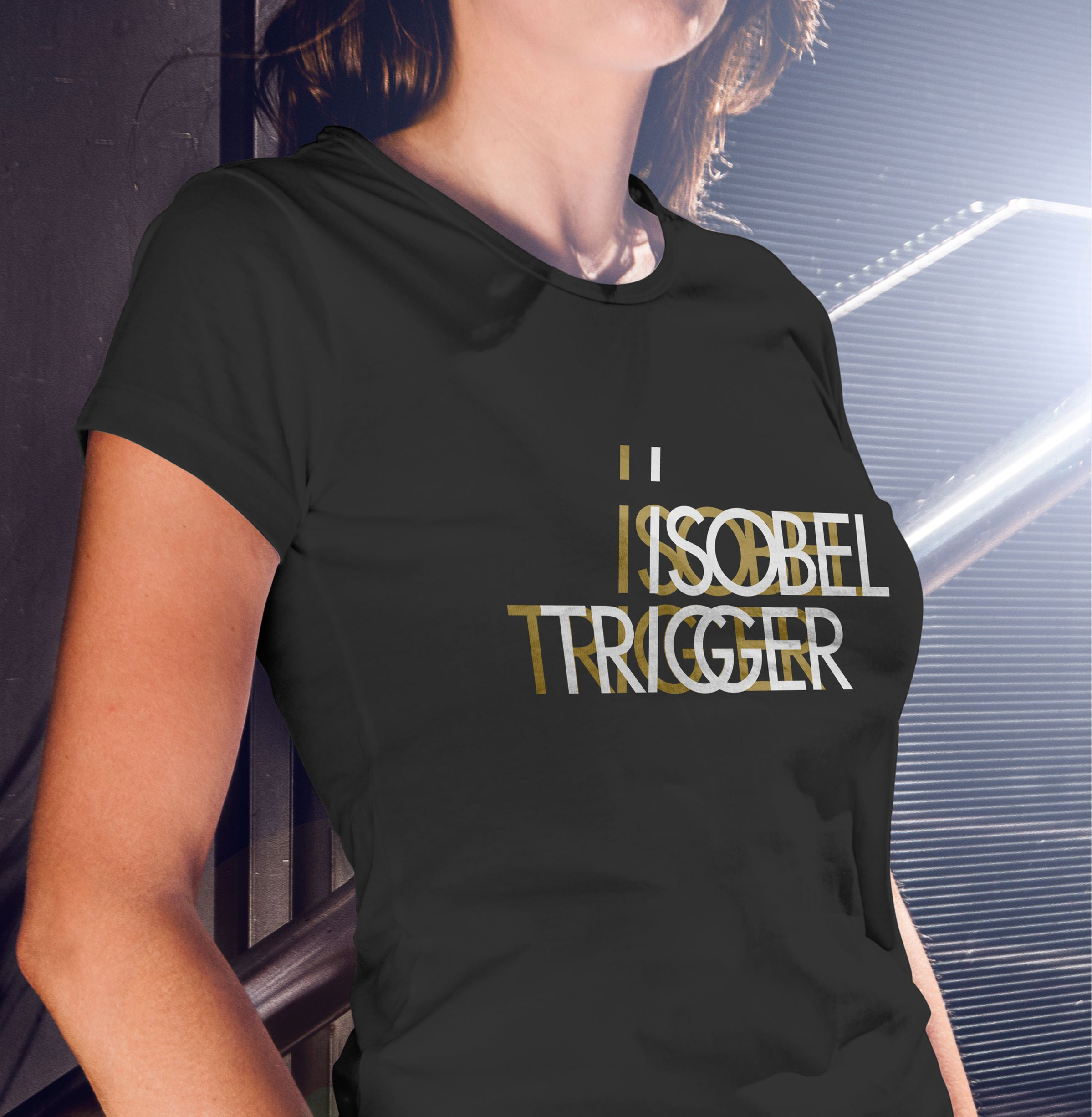 T-Shirt for Isobel Trigger, a Canadian Rock Band by Ottawa Graphic Designer idApostle