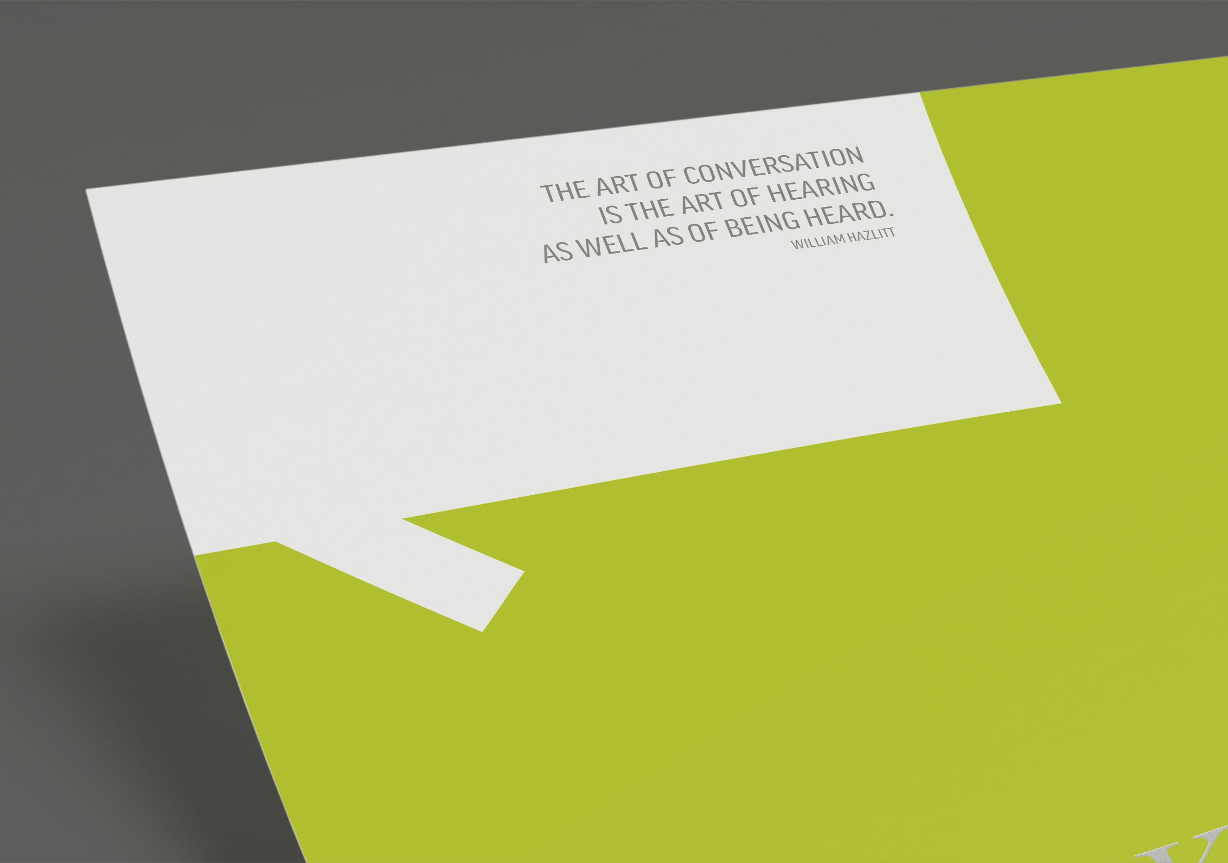 Letterhead detail for N45 Architecture Inc., architects by Graphic Designer idApostle