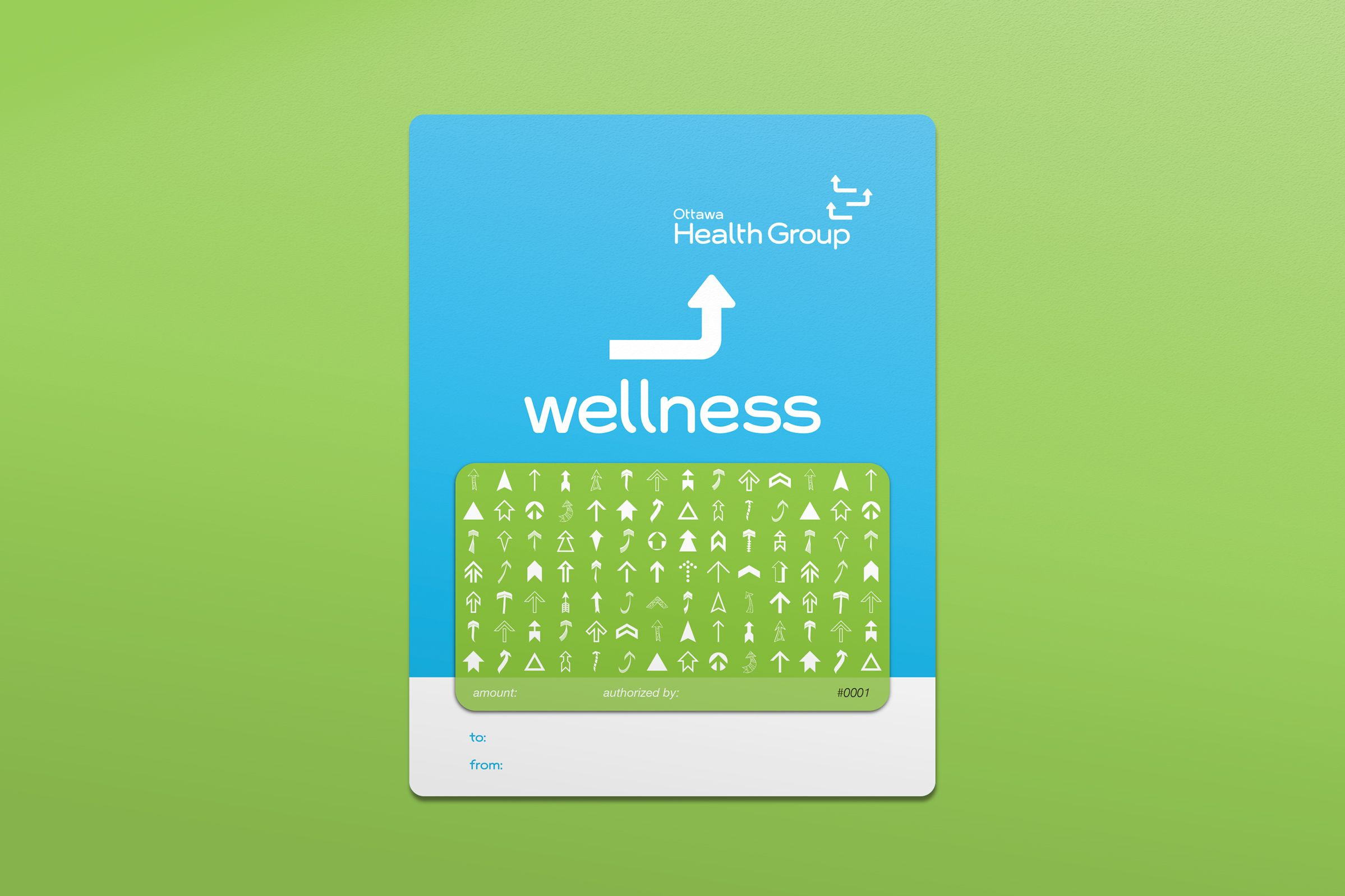 Gift Card for Ottawa Health Group, a health care provider by Graphic Designer idApostle