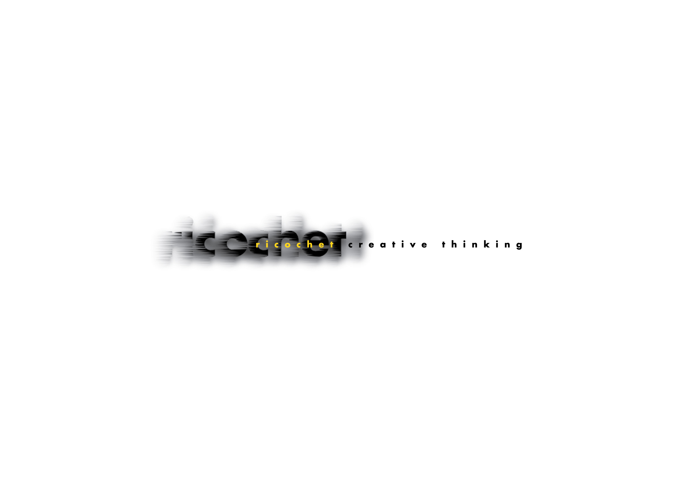 Ricochet Creative Thinking Logo Colour by Ottawa Graphic Designer idApostle