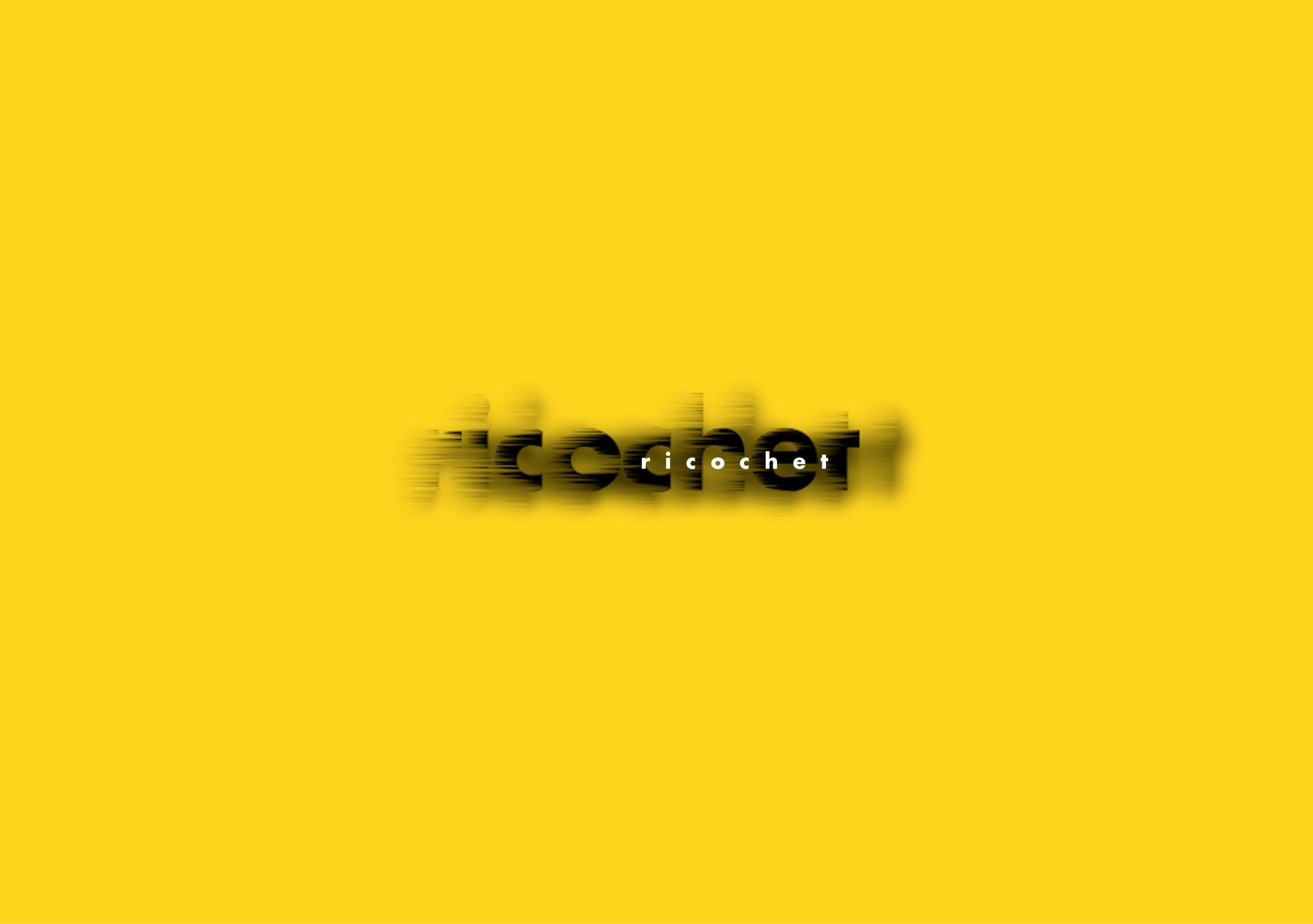 Ricochet Creative Thinking Logo Reversed by Ottawa Graphic Designer idApostle