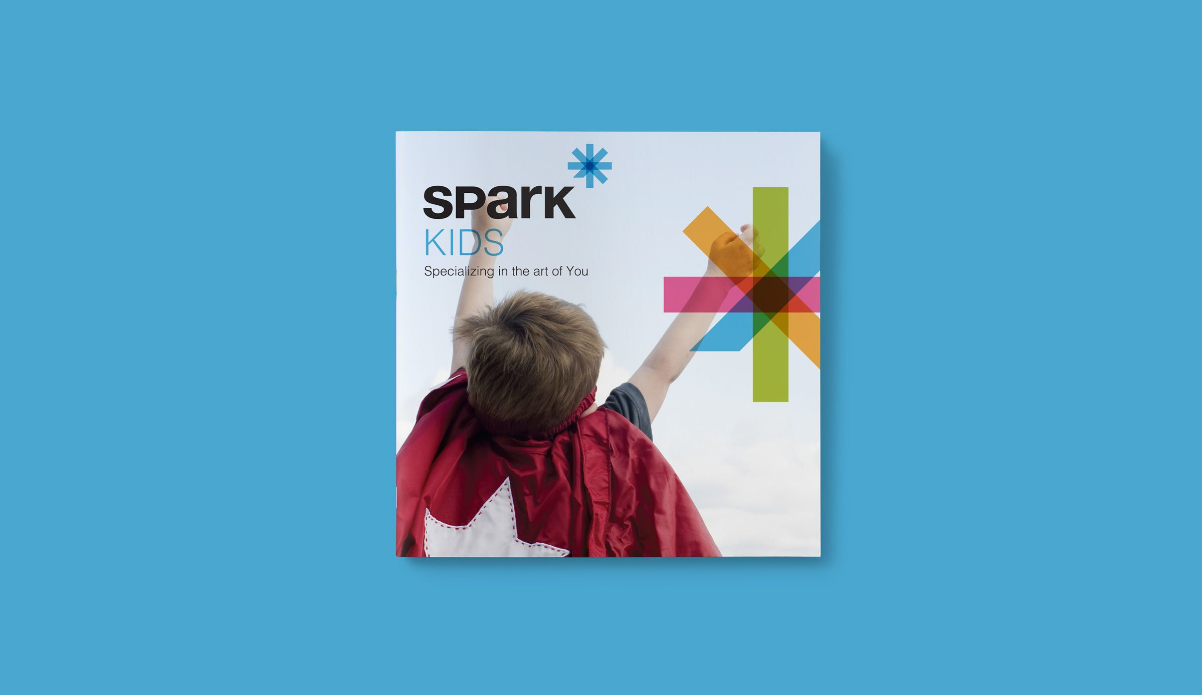 Brochure for Spark Lifecare, life services organization by Ottawa Graphic Designer idApostle