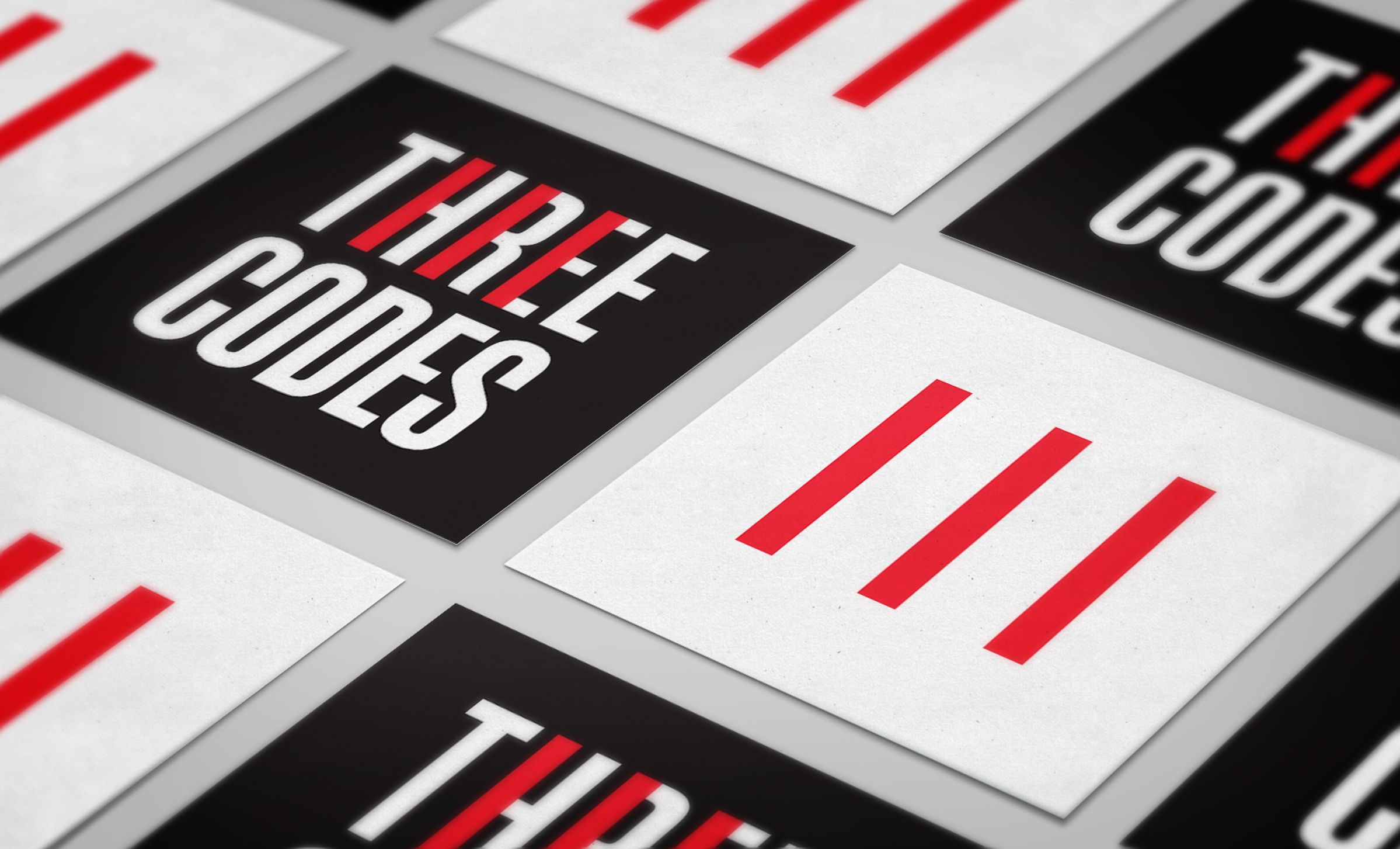 Stickers for Three Codes, an electrical company by Ottawa Graphic Designer idApostle