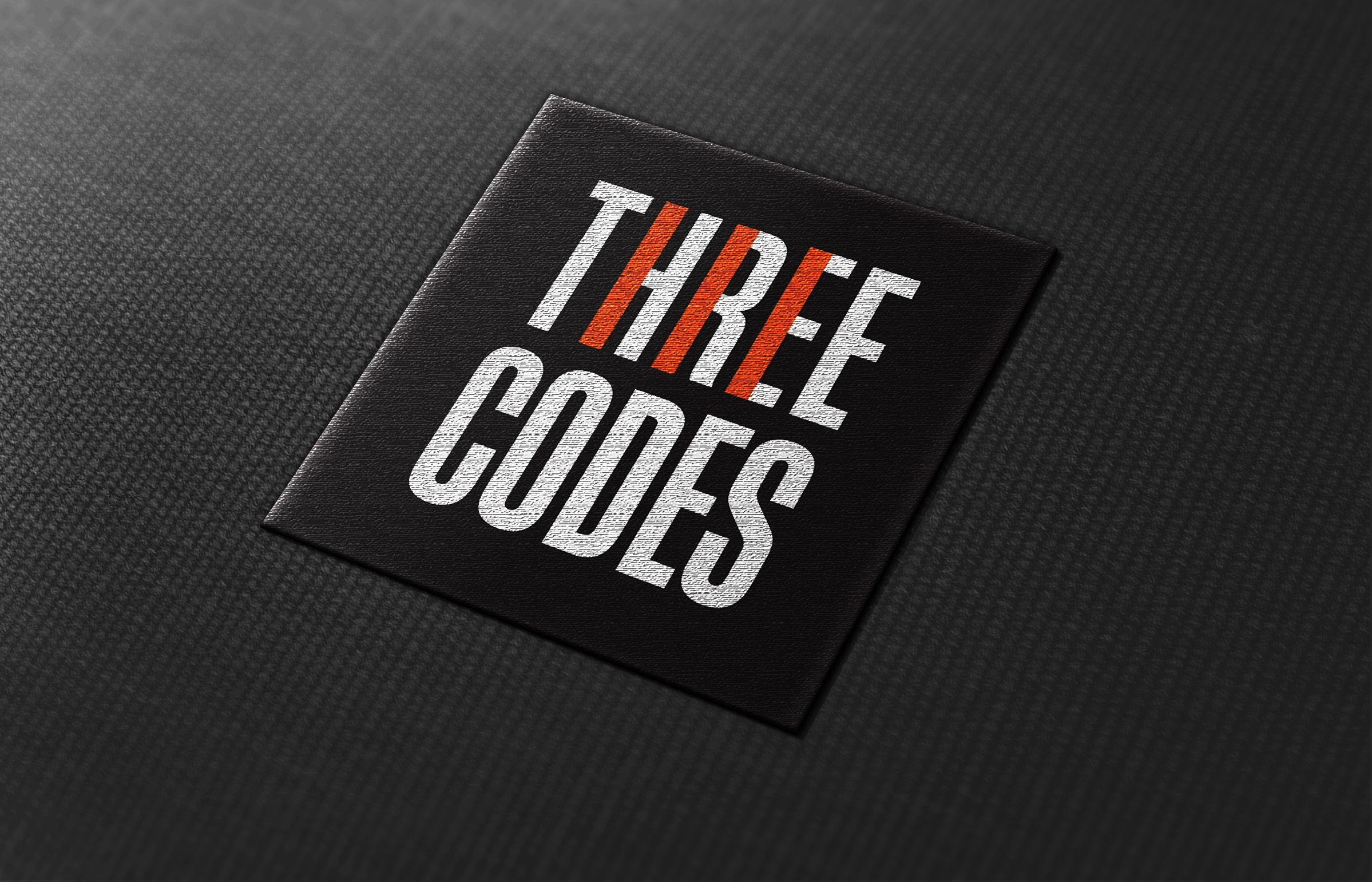 Badge for Three Codes, an electrical company by Ottawa Graphic Designer idApostle
