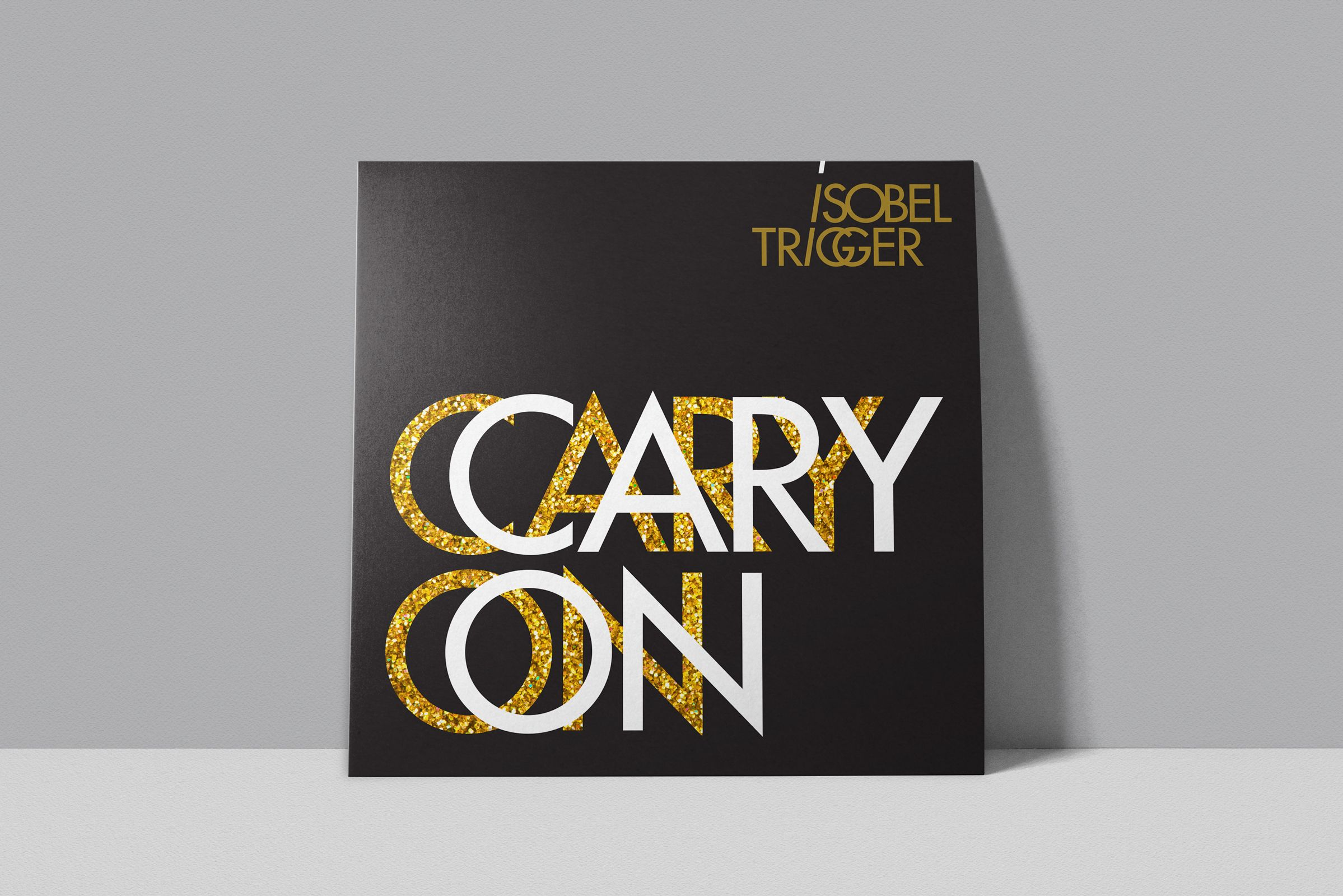 Album Cover for Isobel Trigger, a Canadian Rock Band by Ottawa Graphic Designer idApostle