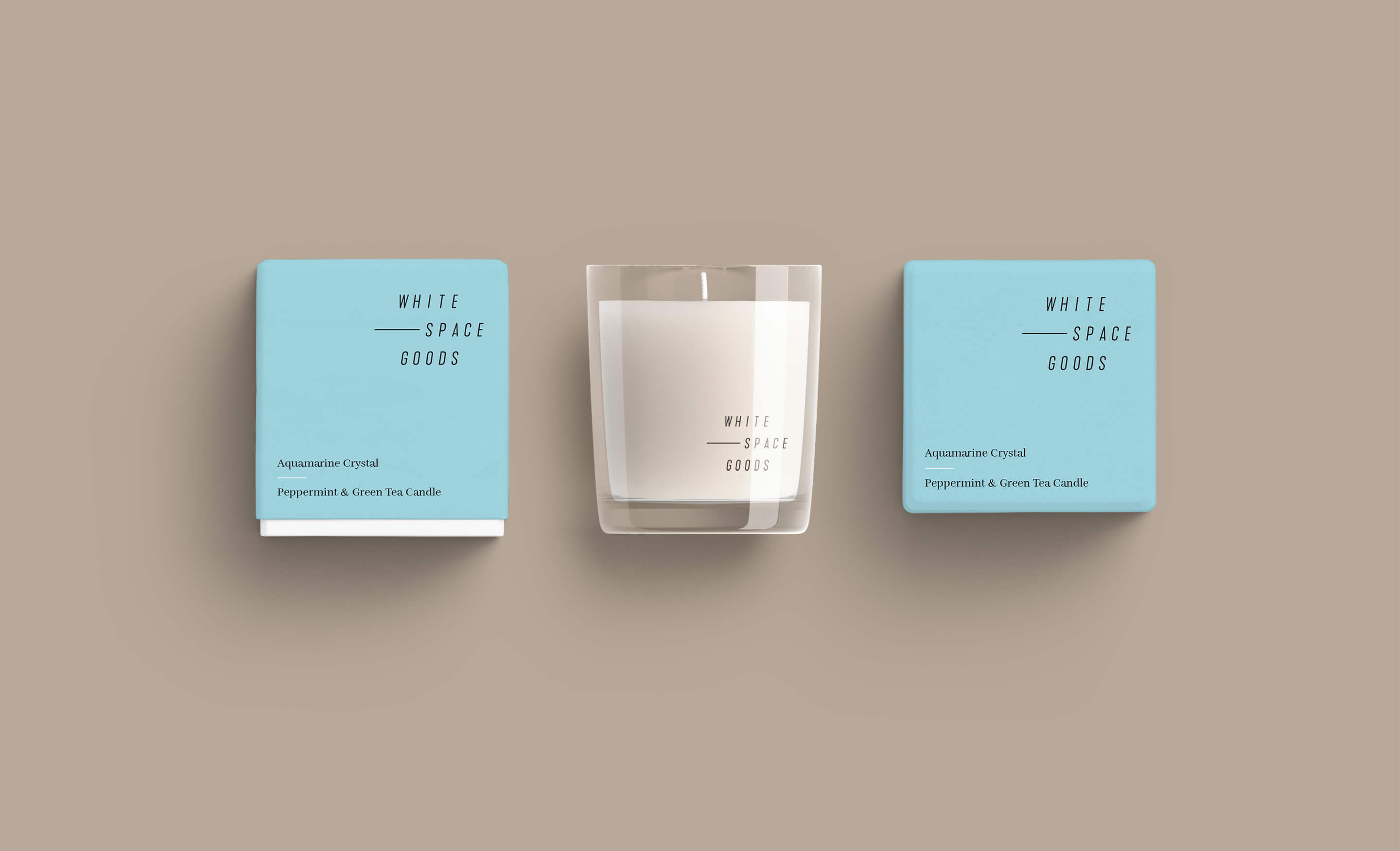 Whitespace Goods Logo design and branding for handmade knitwear and decor store